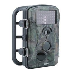 Trail Hunting Camera, LESHP Wildlife Camera With 12 MP 1080P