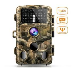 Campark Trail Camera Waterproof 16M 1080P Game Hunting Scout