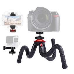 Lammcou Camera Tripod Flexible Phone Tripod Lightweight Acti