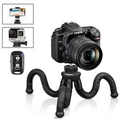 Flexible Camera Tripod, UBeesize 12 Inch Mini Tripod Stand G