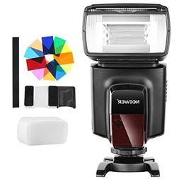 Neewer TT560 Flash Speedlite with 12 Color Filters and Hard