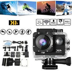 Ultra 4K Full HD 1080P Waterproof Sport Camera WiFi Action C
