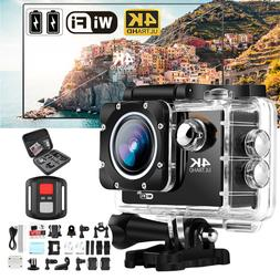 Ultra 4K1080P Waterproof Sport DV WiFi Action Camera &Access