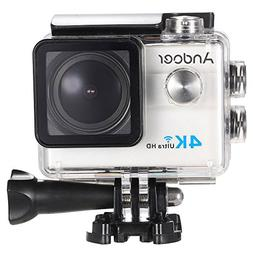 "Andoer Ultra HD Action Sports Camera 2.0"" LCD 16MP 4K 25FPS"