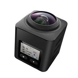 SEREE Ultra HD 4.0K 360 Degree Action Waterproof Panoramic S