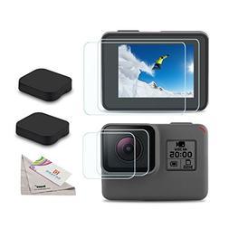 Deyard Screen Protector for GoPro Hero HD/Hero 5/Hero 6, Ul