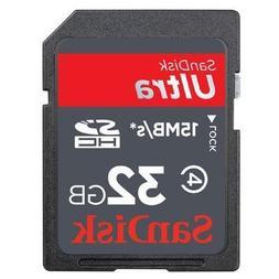 32GB Ultra SDHC Card