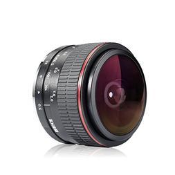 Meike 6.5mm Ultra Wide f/2.0 Fisheye Lens for Sony A6000,A61