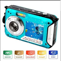 Underwater Camera FHD 2.7K 48 MP Waterproof Digital Camera S