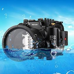 PULUZ 40m Underwater Depth Diving Case Waterproof Camera Hou