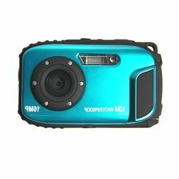 Underwater Digital Video Waterproof Camera 2.7inches LCD 16M