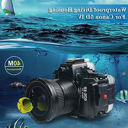 Sea frogs 130ft/40m Underwater Camera Housing Diving Camera