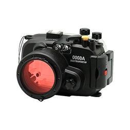Sea frogs 130ft/40m Underwater Camera Housing Waterproof Cas