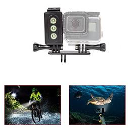 ADIKA Underwater Light for GoPro 30m Waterproof Sidekick Sid