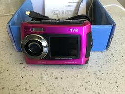 UNDERWATER WATERPROOF DIGITAL CAMERA SVP AQUA 5800 18 Mp VID