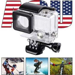 Underwater Waterproof Dive Case GoPro Hero 3+/Hero 4 Housing