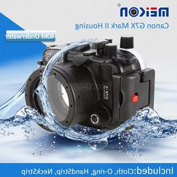 Underwater Waterproof Housing Camera Case for Canon G7X II M