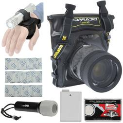 Underwater Waterproof Housing Case for Canon Rebel T3i T4i D