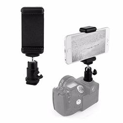 VizGiz Universal 1/4 Screw Flash Hot Shoe Mount Adapter Crad