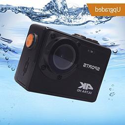 4K Action Camera, Vmotal 16MP WiFi Ultra HD Waterproof DV Ca