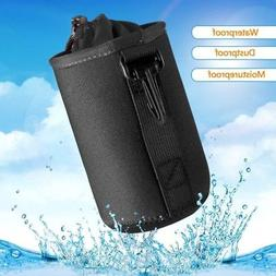 US Black Waterproof Camera Lens Bag Padded Pouch Protector C