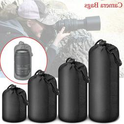 US Waterproof Shockproof DSLR Camera Lens Cover Soft Protect