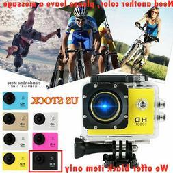 Sport Action Camera DVR Helmet Cam Waterproof SJ4000 HD 1080