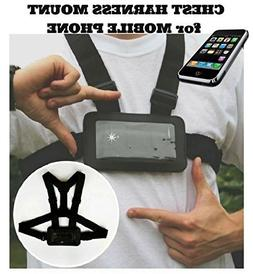 Designus Use Your Mobile Phone as Action Camera Body Chest M