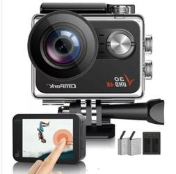Campark  V30 Native 4K Action Camera 20MP EIS Touch Screen W