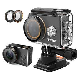 ThiEYE 4K WiFi Sports Action Camera Waterproof Sports Video