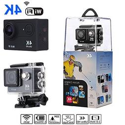 Bekhic V90 4K HD Wifi Sports Action Camera Ultra Waterproof