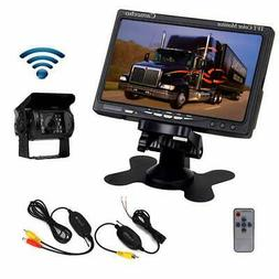 Camecho Vehicle Backup Cameras RC 12V 24V Car Rear View Wire
