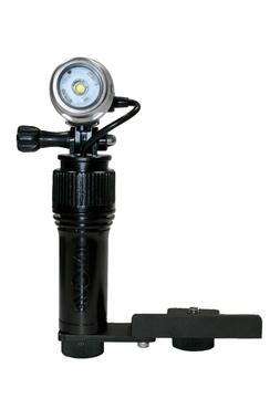 Video Light waterproof with Camera mount bracket. Intova Act