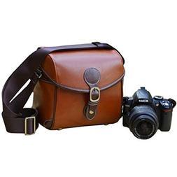 Duosuny Vintage Look Britpop DSLR Waterproof Camera Bag SLR