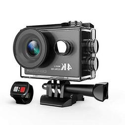 Dragon Touch Vision 3 4K Sports Action Camera Ultra HD Water