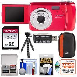 Vivitar ViviCam VXX14 Selfie Digital Camera  with 32GB Card