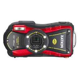 PENTAX Water Proof Digital Camera PENTAX WG-10 Red 1cmMacro