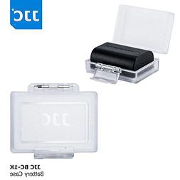JJC Water-Resistant Camera Battery Case Protector for Canon