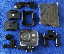 Waterproof 1080P Ultra HD Sport Action Camera DVR DV Helmet