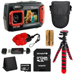 Ivation Waterproof digital camera , Memory Card Reader, 12""
