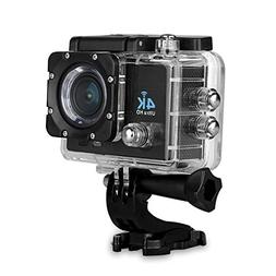 "Waterproof Camera - SODIAL 16MP 4K HD 1080P 2"" WIFI Sports A"