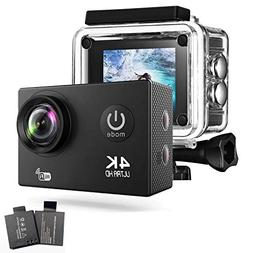 4K WiFi Action Camera 2.0 Inch 170 Degree Wide Angel 16MP IP