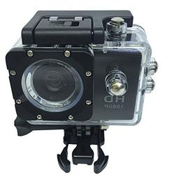 Hestio Waterproof HD 1080P 12MP Sports Action Camera for Kid
