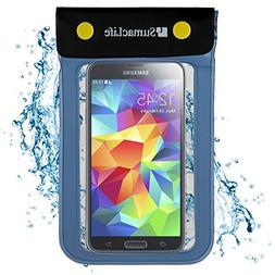 SumacLife Waterproof Bag Dry Pouch Case for LG Leon/Tribute