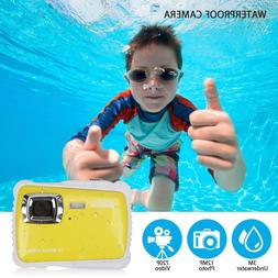 Waterproof Camera for Kids, Underwater Digital Camera for Ki