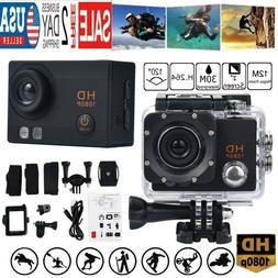 Waterproof Camera HD 1080P Sport Action Camera DVR Cam DV Vi