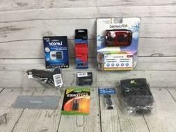 Polaroid Waterproof Camera IE090 Kit Red