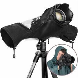 Waterproof Camera Rain Cover Shield Coat Protector Sleeve fo