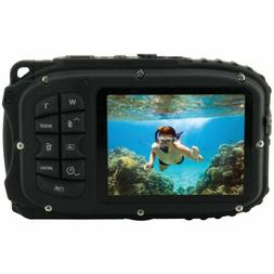 Waterproof Digital Camera 20 MP HD Video Underwater 33ft 8X