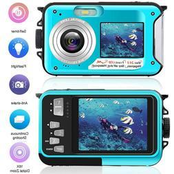 Waterproof Digital Camera for Kids Baby Cute Camcorder Video